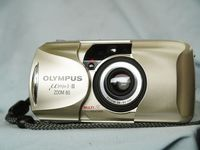 Olympus Mju II Zoom 80 Quality Point and Shoot Cult Compact Camera -Tested- MINT